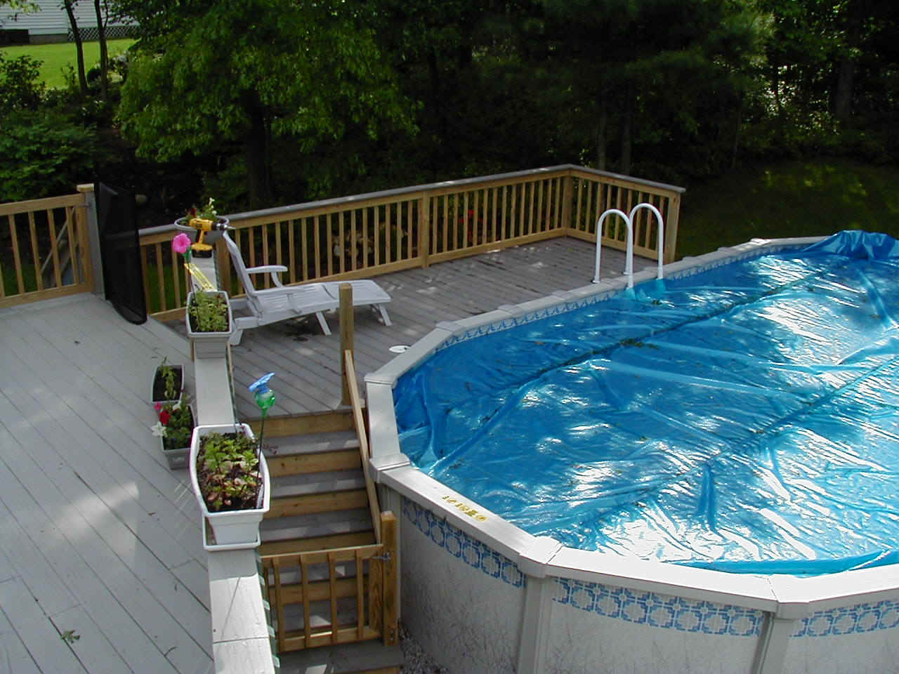 Pool decks for In ground pool deck designs